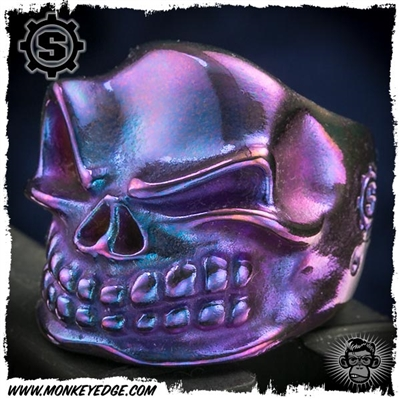Starlingear Ring: Slickster Puncher - Titanium Purple/Teal Ryk Stamp