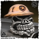 Starlingear Bead: Slickster Doughboy - Silver/Copper