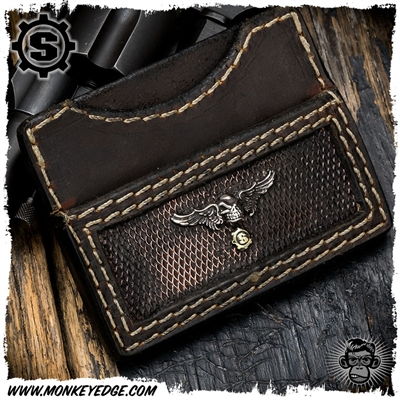 Starlingear Wallet: Winged Slickster - Silver