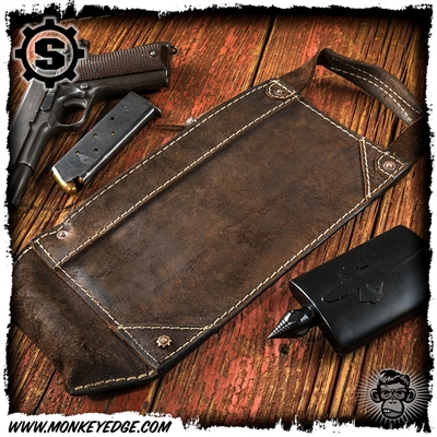 Starlingear Leather Legal Tenderizer Bank Bag - Bruiser