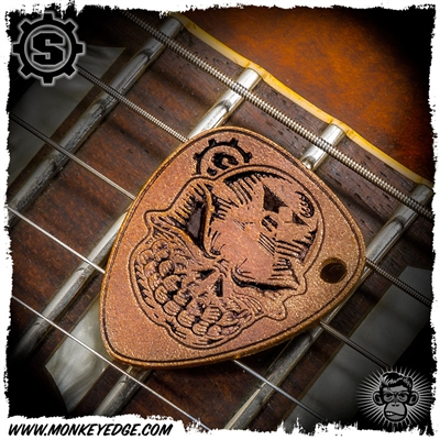 Starlingear Guitar Pick: Slickster - Copper Textured