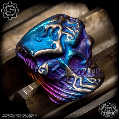 Starlingear Bead: Kanagawa Wave Stealth - Titanium Blue/Purple