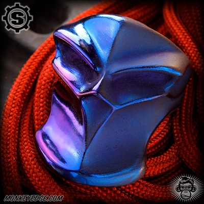 Starlingear Ring: Stealth Blade Puncher - Titanium Two Face Blue/Purple