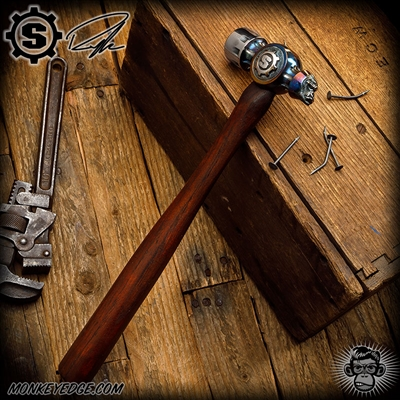 Starlingear: Ryk Custom Cobalt Ball Peen Primate Hammer w/Hickory Handle