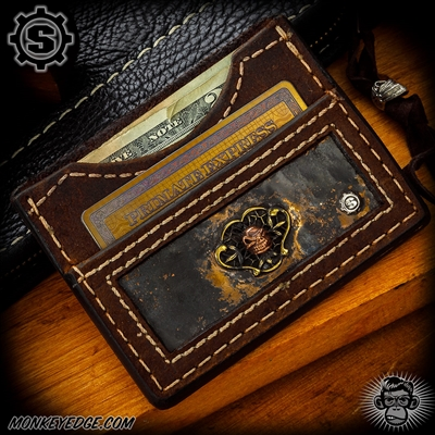 Starlingear Wallet: Vintage Slickster - Copper/Silver