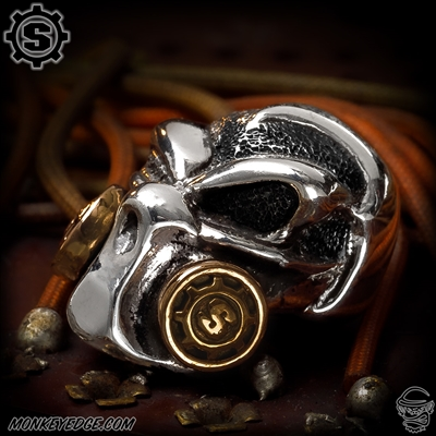 Starlingear Bead: Gasser 2013 - Silver/Copper Textured