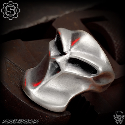 Starlingear Ring: Stealth Blade Puncher - Silver Satin