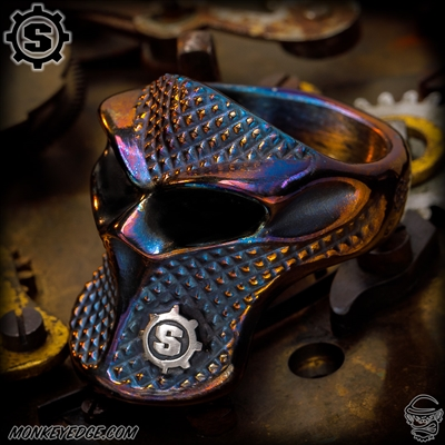 Starlingear Ring: Stealth Blade Checkered Puncher - Cobalt Custom Two-Tone Matte w/S-Gear