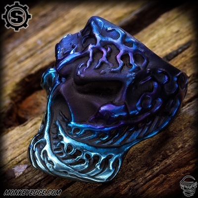 Starlingear Ring: Kanagawa Wave Stealth Puncher - Titanium Blues