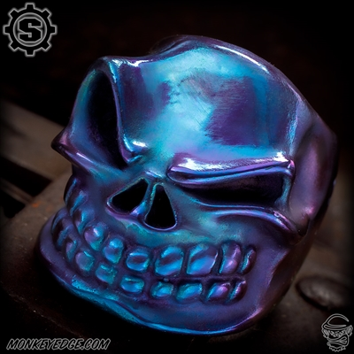 Starlingear Ring: Slickster Puncher - Titanium Purple/Teal
