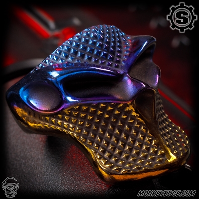 Starlingear Ring: Stealth Blade Checkered Puncher - Titanium Multicolor