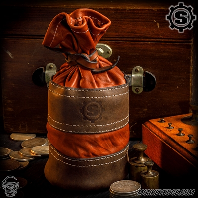 Starlingear Leather Bullion Bag: Leather Two Tone