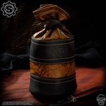 Starlingear Leather Bullion Bag: Leather Weathered Brown/Black