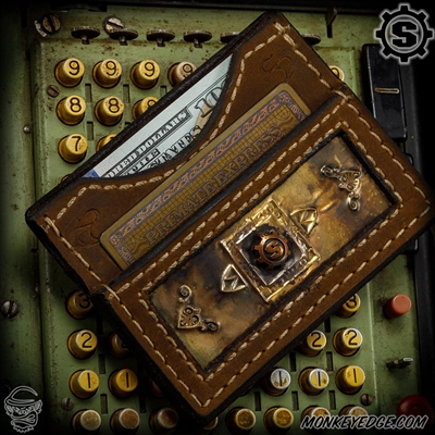 Starlingear Ryk Maverick Custom Wallet: Embossed w/Copper S-Gear