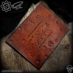Starlingear Ryk Maverick Custom Leather Mat - Large Embossed 20 Years