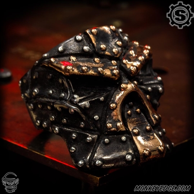 Starlingear Ring: Up Armored Stealth Puncher - Silver/Copper Plates