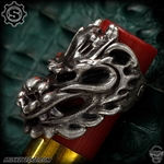 Starlingear Ring: Dragoon Puncher Textured - Silver Limited Edition
