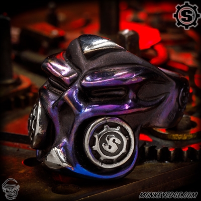 Starlingear Ring: Gasser 2019 Puncher - Titanium Purple/Satin