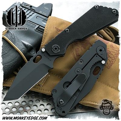 Monkey Edge Strider Knives Folder Sng Standard 3 4