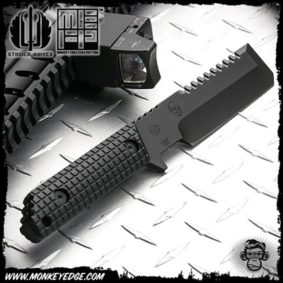 Strider Knives Fixed: PP Tool - Monkey Edge FRAG Pattern