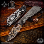 Strider Knives: Starlingear SMF Old Horny Collaboration Package (NYCKS 2018)