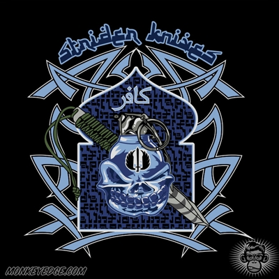 Strider Knives Shirt: Steel Jihad - Black