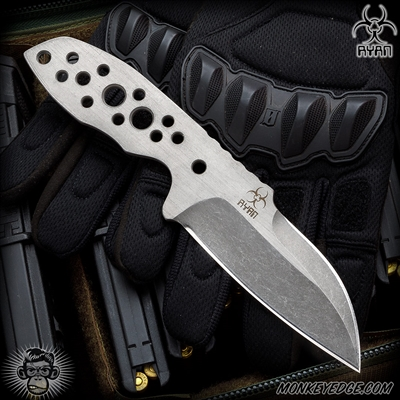 Steve Ryan: Vorpal Fixed Blade - Boot Knife Acidwashed