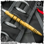 Tuff Writer Mini Click - Brass Vehement Edition