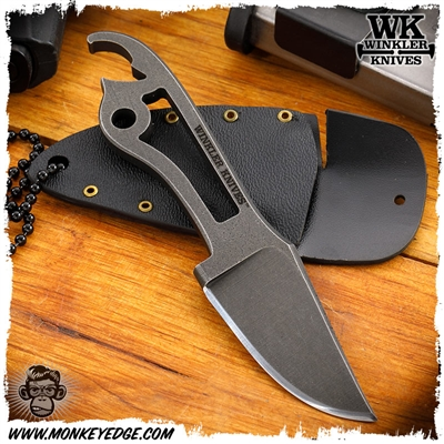 Winkler Knives II Fixed Blade: Neck Knife - Etched
