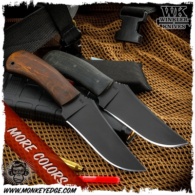 Winkler Knives II Fixed Blade: Belt Knife