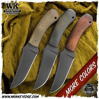 Winkler Knives II Fixed Blade: Belt Knife Crusher