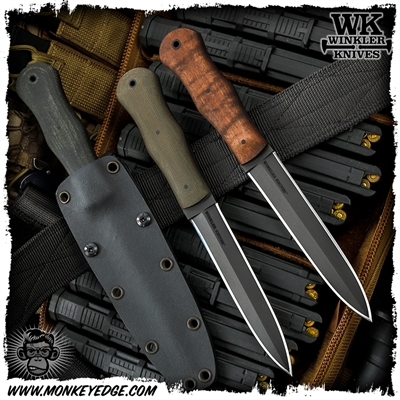 Winkler Knives II Fixed Blade: Tactical Dagger