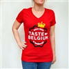 Official Waffle V-Neck Tee - Womens
