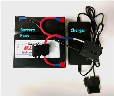 18 Volt Conversion for 12 Volt Power Wheels w/ charger