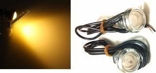 2 Additional Amber LED Lights