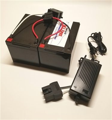 24 Volt Conversion for 12 Volt Power Wheels w/ charger