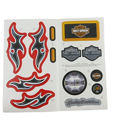 Harley Rocker Stickers