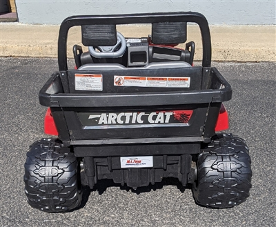 Power Wheels Arctic Cat Fatty Rear Tire Upgrade