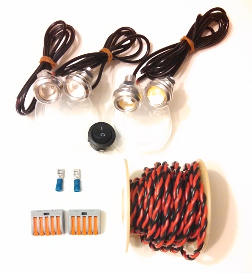 sc 1 st  MLToys & Ride-On LED Lighting Kit for 12v 18v or 24v models