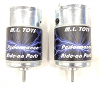 Matched Pair of 550 Performance Motors