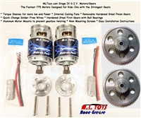 *DUE LATE MAY IF YOU ORDER NOW* Stage IV DIY Motors/Gears