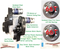 Stage V Super Speed Motors/Gearboxes for Dune Racer & Baja Extreme