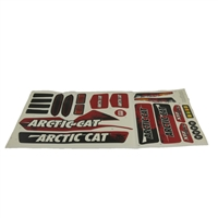 Arctic Cat Red Stickers