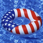 Swimline 90196 36 Americana inflatable swim ring