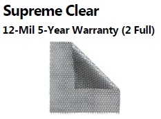 Midwest 15' x 30' Oval AG Supreme Clear