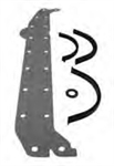 Mercruiser Oil Pan Gasket 27-85817A1, 27-90458A1