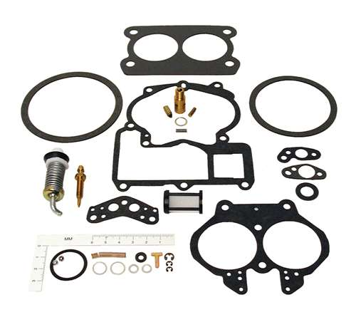 2bbl Mercarb rochester rebuild repair kit  mercruiser GLM 76086 18-7098 sierra Car & Truck Carburetor Parts