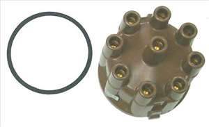 Mercruiser , OMC . Volvo , Chrysler , Crusader , Chriscraft , Pleasurecraft Distributor Cap 392-6318 , 392-6318T , 835702 , 982336 , 4142408 , 41052