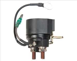 Yamaha outboard boat solenoid for 2 stroke engines: 40hp (1984-88); 50hp (1984-88); 60hp (2001-06); 70hp (1991-current); 90hp (1984-91).