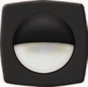Recessed Companion Way LED Light (Black Cover White LED)